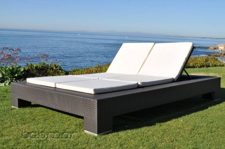 Babmar Venzano Double Chaise Lounge