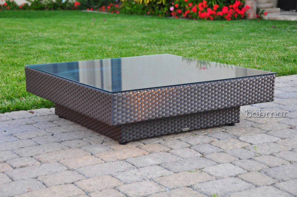 Stylus Modern Outdoor Large Coffee Table
