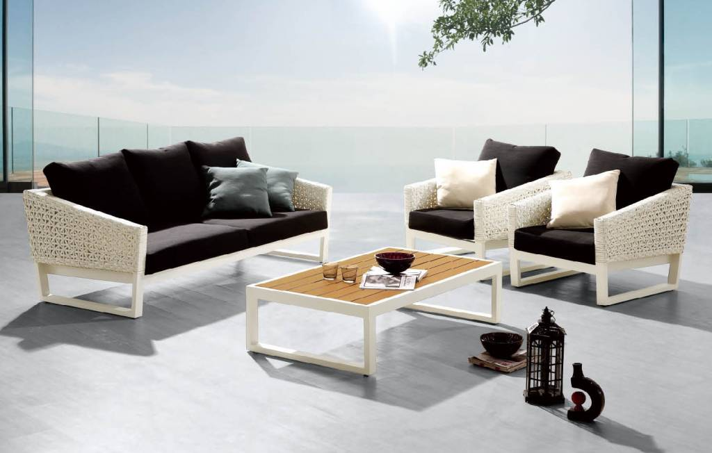 Cali Modern Outdoor Sofa Set Babmar Com