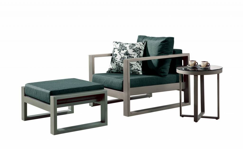 Prime Amber Modern Outdoor Club Chair With Ottoman And Side Table Cjindustries Chair Design For Home Cjindustriesco