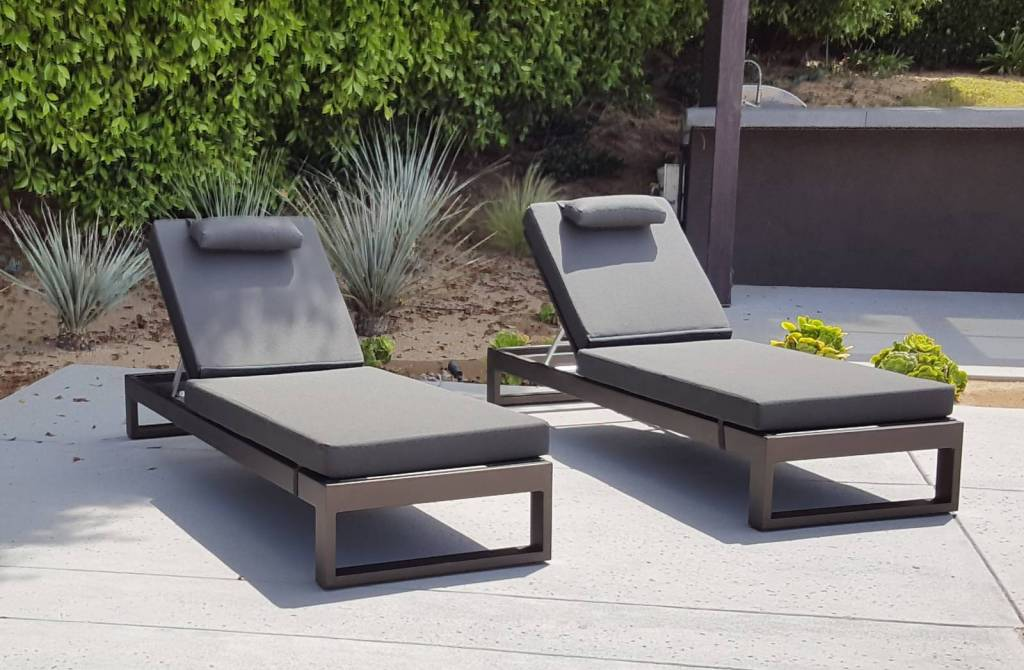 Amber Outdoor Chaise Lounge