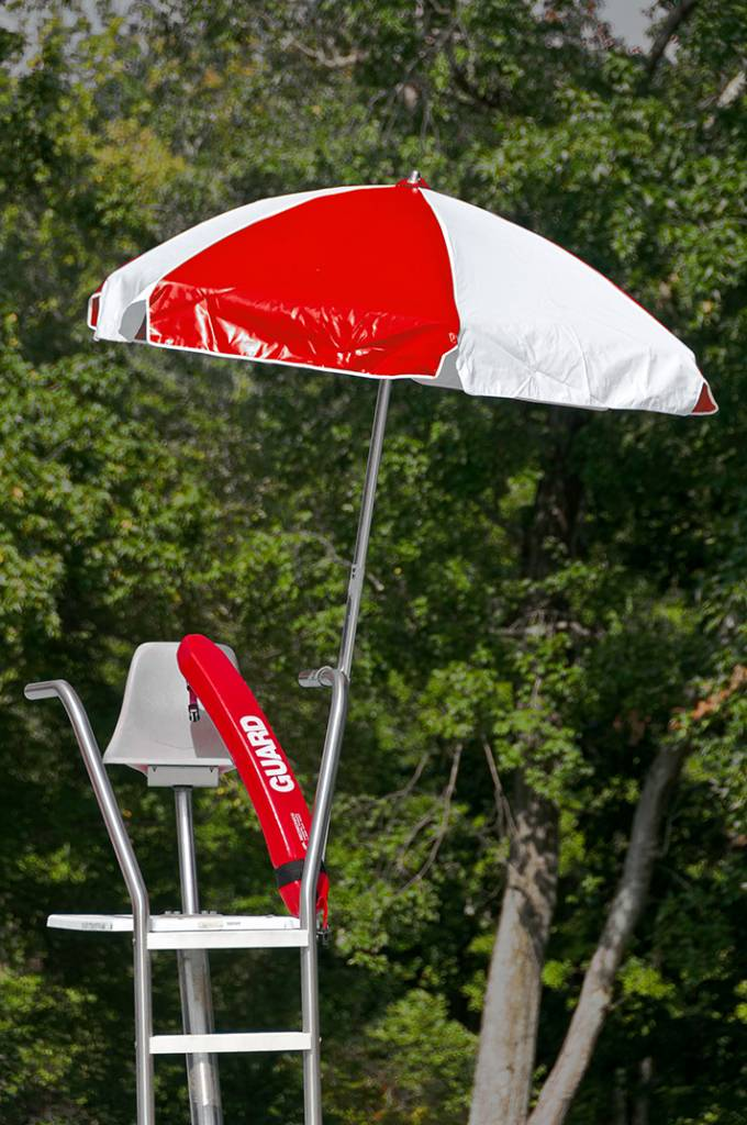 Lifeguard Steel Umbrella Patio Umbrellas Babmar Com
