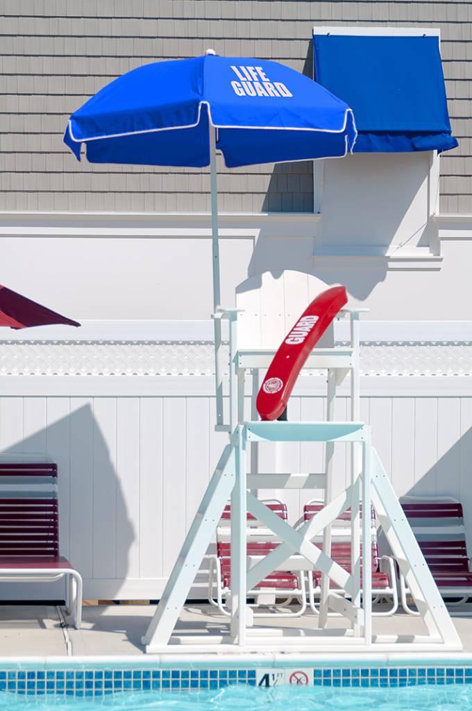 Lifeguard Steel Umbrella Patio Umbrellas Babmar Com