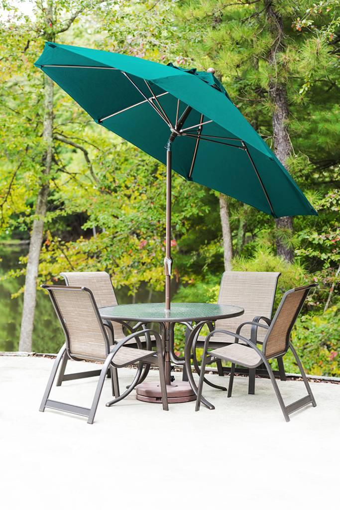 Monterey Fiberglass Auto Tilt Umbrella Residential And