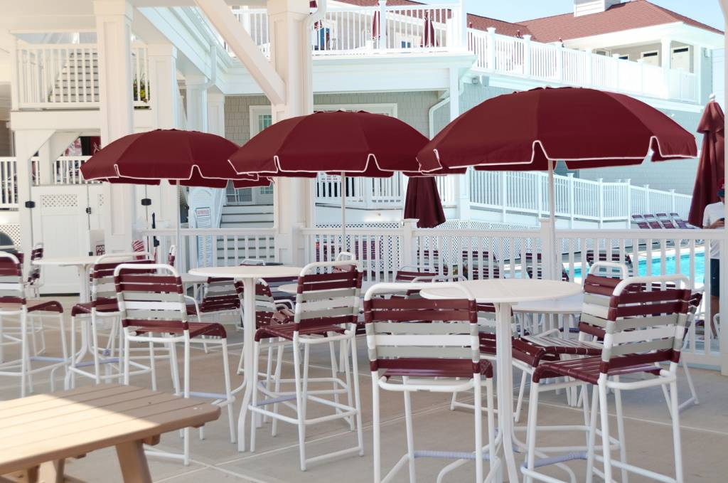 ... Catalina Fiberglass Octogan Patio Umbrella ...