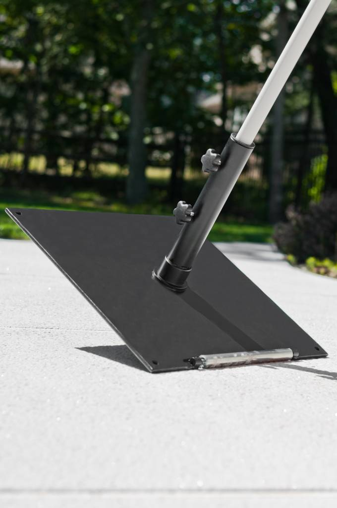16 Quot Square Steel Plated Umbrella Base Residential And