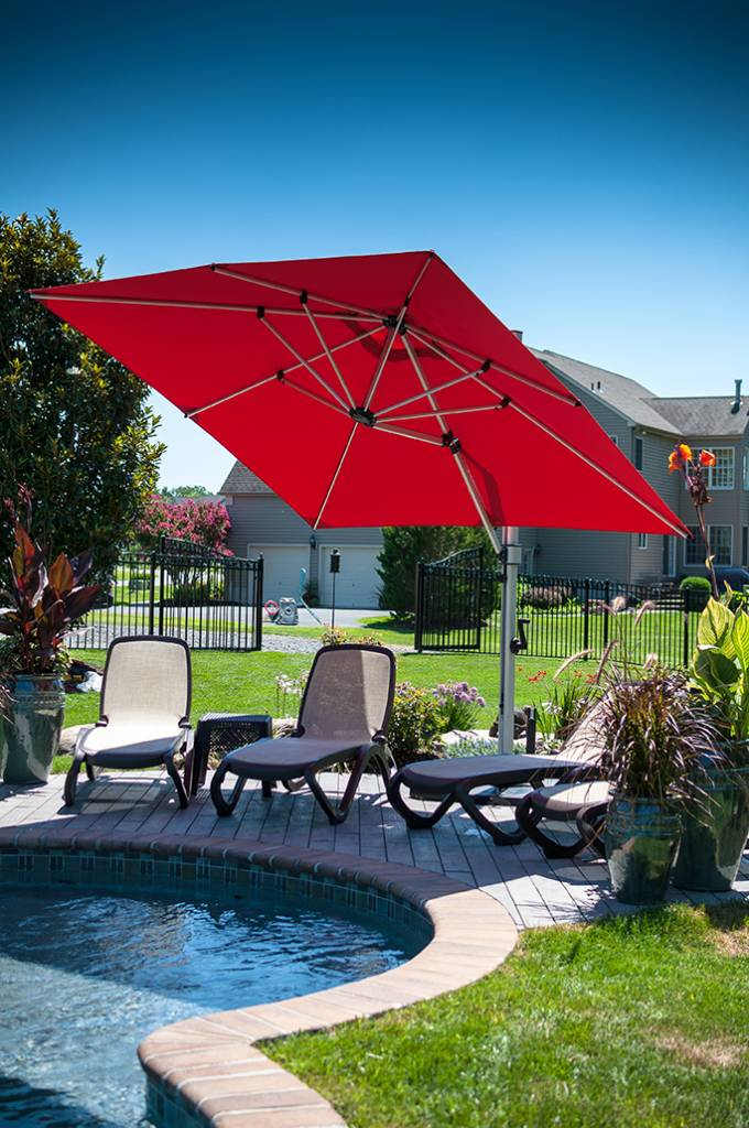 Aurora Cantilever Umbrella Residential Commercial Patio