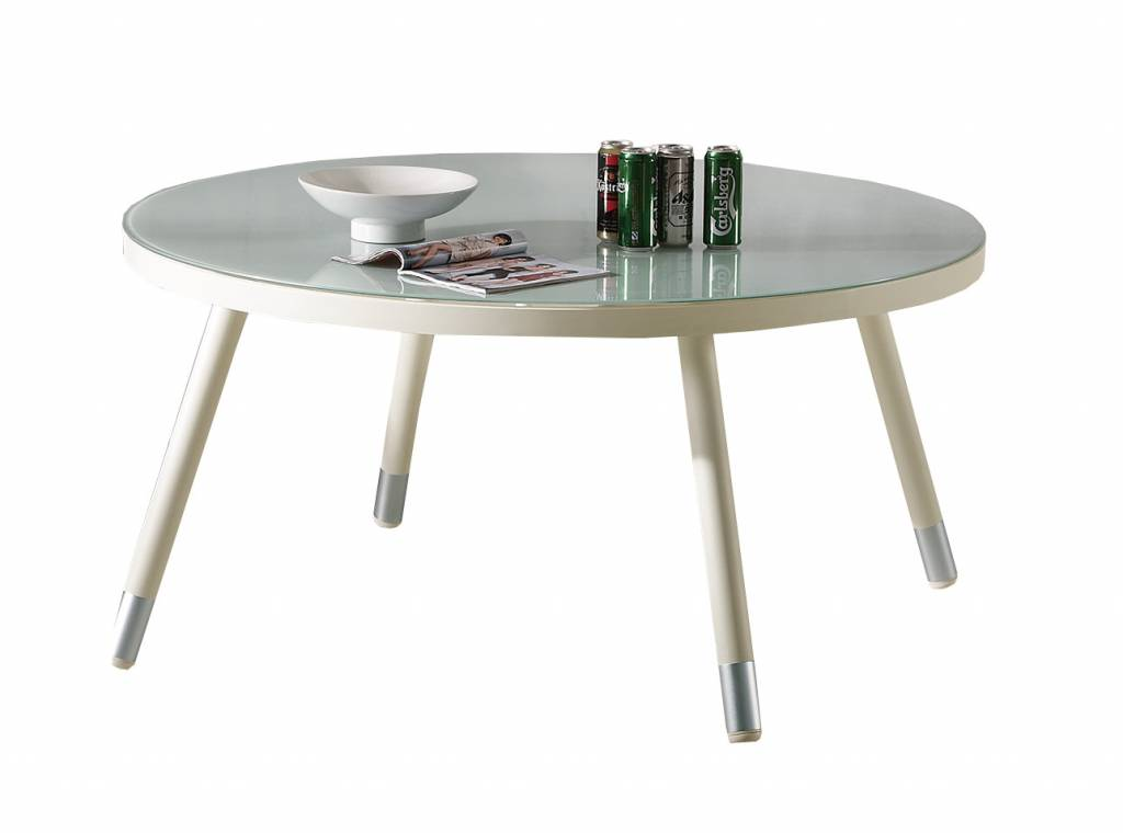 Fatsia Modern Outdoor Round Dining Table For 6