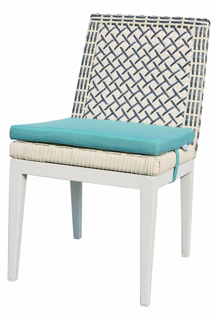Provence Modern Outdoor Armless Dining Chair