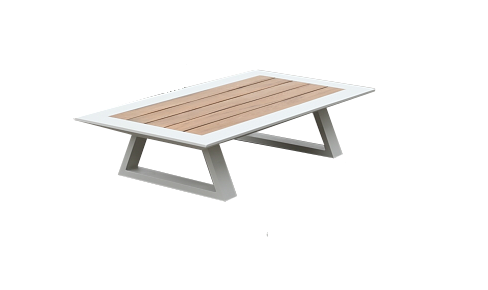 Marvelous Luxe Modern Outdoor Rectangular Coffee Table Customarchery Wood Chair Design Ideas Customarcherynet