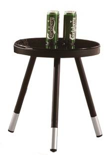 Admirable Cali Modern Outdoor Taco Side Table Babmar Com Home Remodeling Inspirations Cosmcuboardxyz