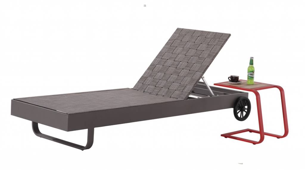 Edge Modern Outdoor Chaise Lounge