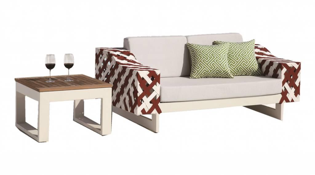 Awe Inspiring Florence Modern Outdoor Loveseat Set Modern Outdoor Unemploymentrelief Wooden Chair Designs For Living Room Unemploymentrelieforg