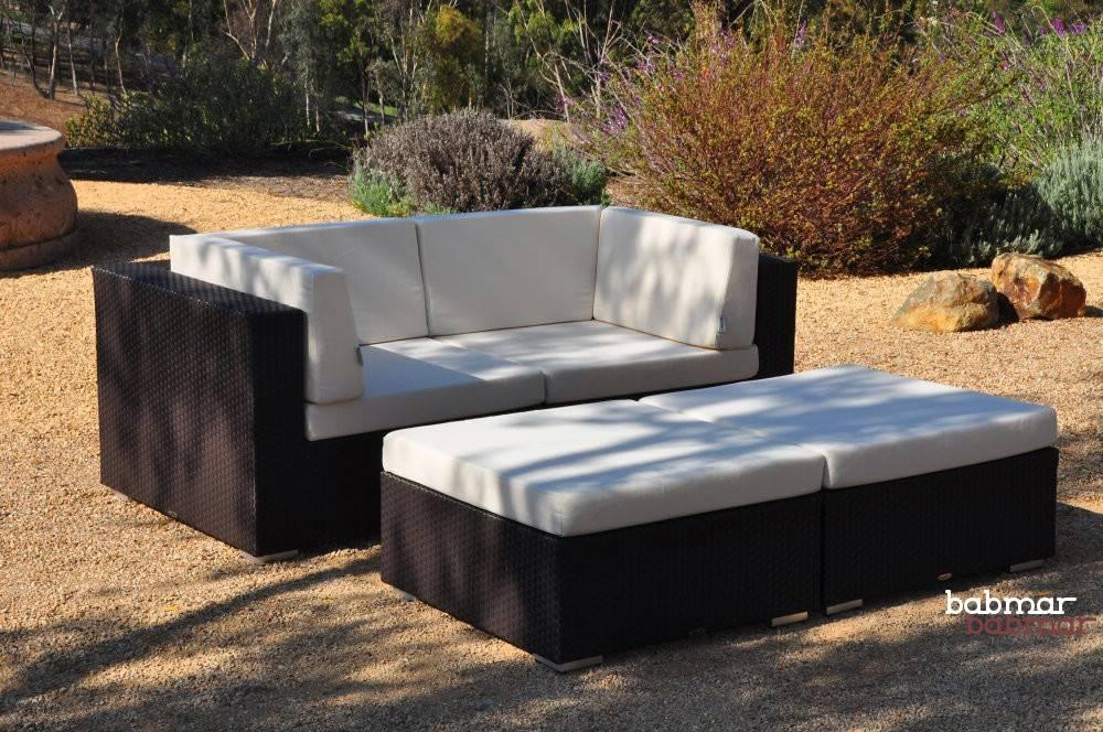 Lucca Modern Outdoor Sofa Set Outdoor Wicker