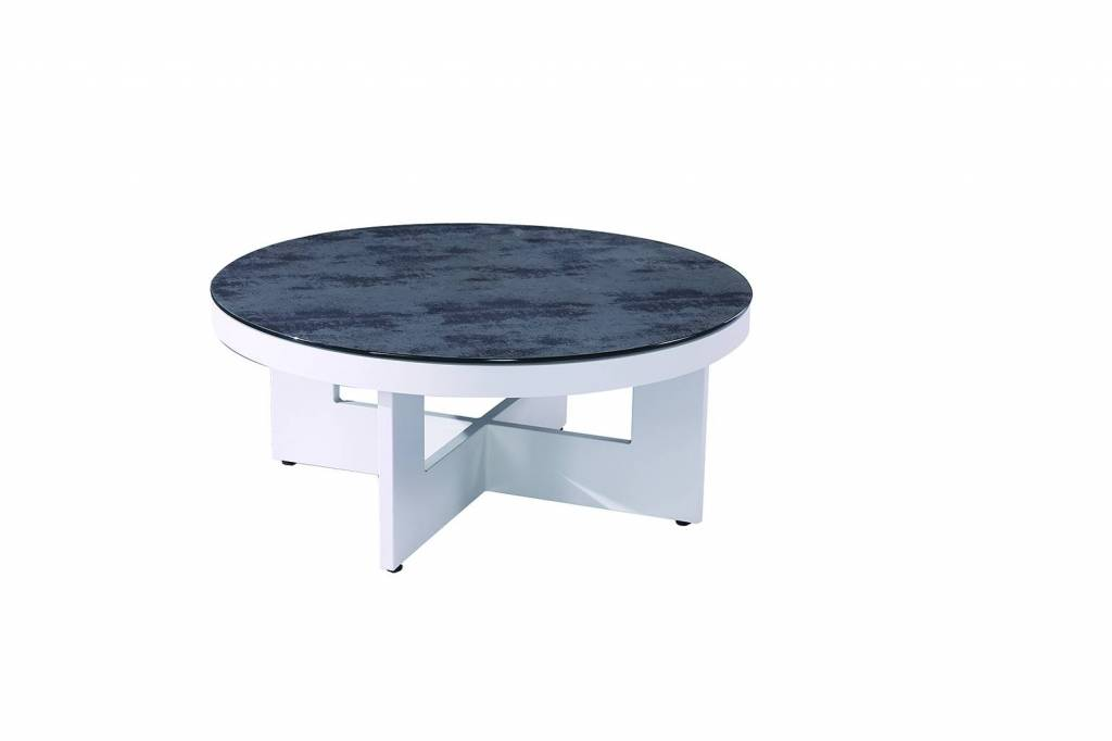 Seattle Round Coffee Table Modern Outdoor