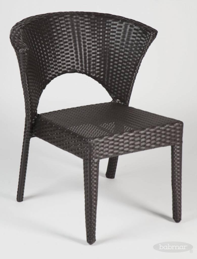 Capri Armless Dining Chair Patio Furniture Lawn