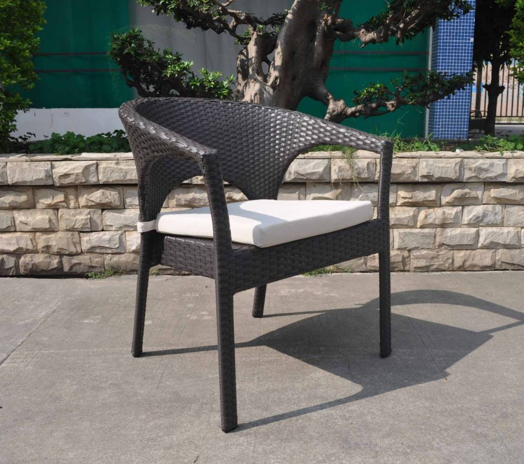 Capri Dining Chair With Arms Patio Furniture Lawn
