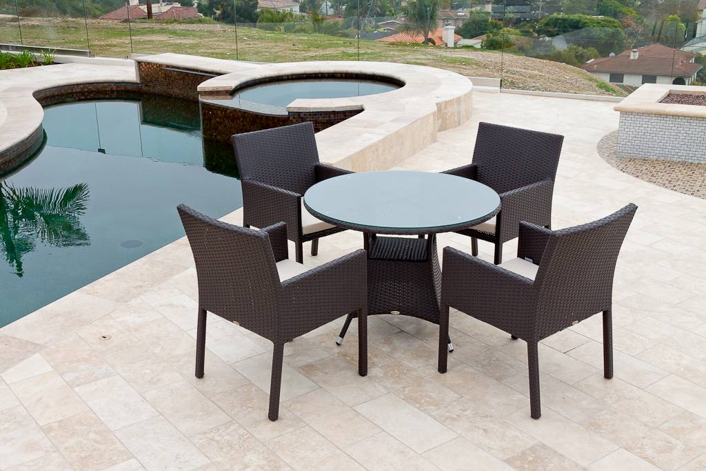 dining set for four with round table bella dining set