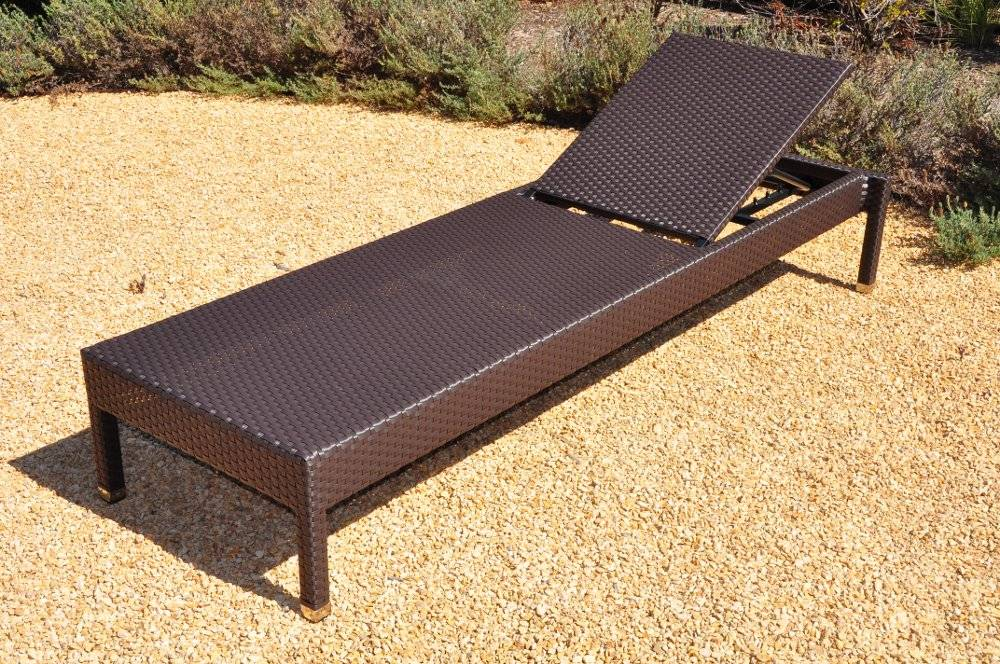 Stackable all weather wicker chaise lounge for All weather wicker chaise lounge