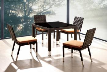 Taco Dining Set For 4 With Square Table