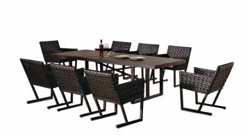 Cali Dining Set For Eight