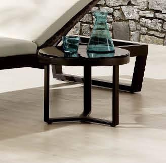 Amber Short Side Table
