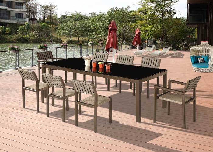 Amber Dining Set For 8
