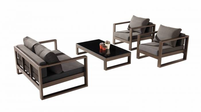 Amber Loveseat Sofa Set