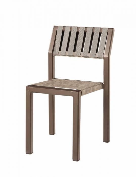 Amber Outdoor Armless Dining Chair