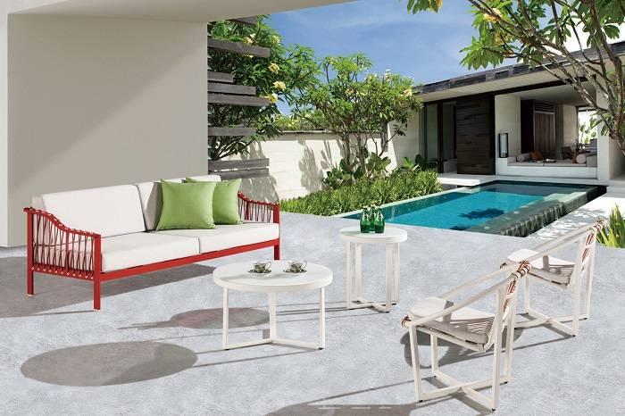 Hyacinth Sofa Set with 2 Chairs