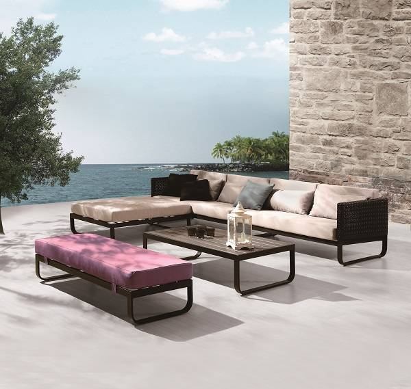 Polo Sofa Set with Bench