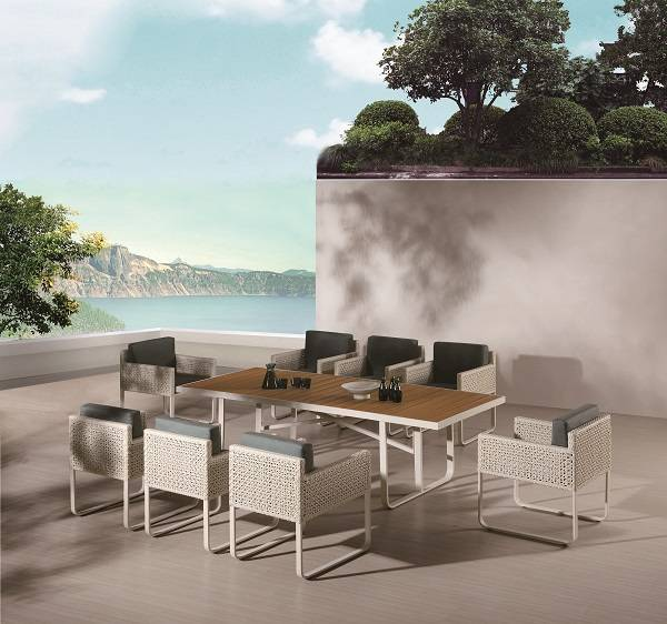 Polo Dining Set for 8