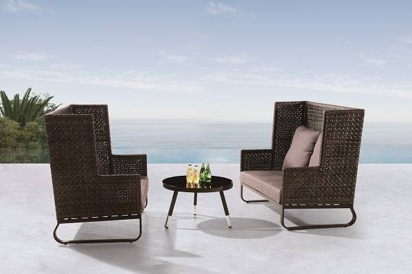 Polo Seating Set for 4 with coffee table