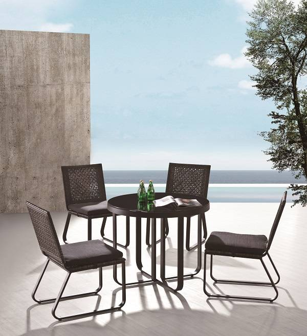 Polo Dining Set for 4 without Arms
