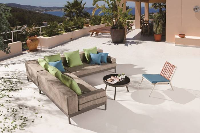 Barite Sofa Set for 4