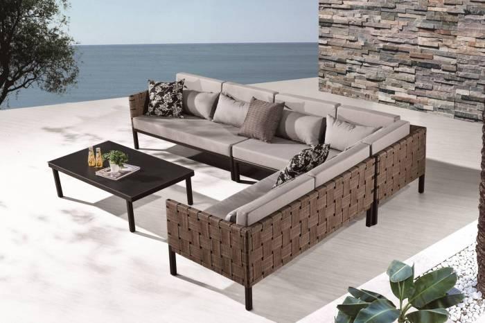 Asthina Sectional Sofa Set