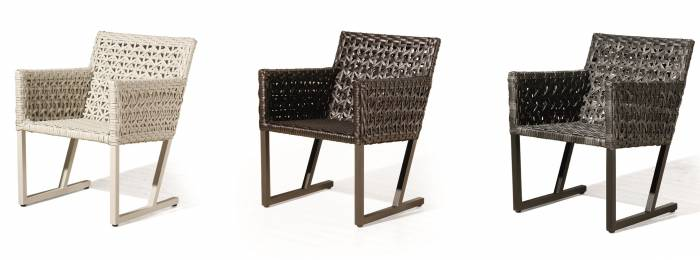Cali Dining Chair with Arms