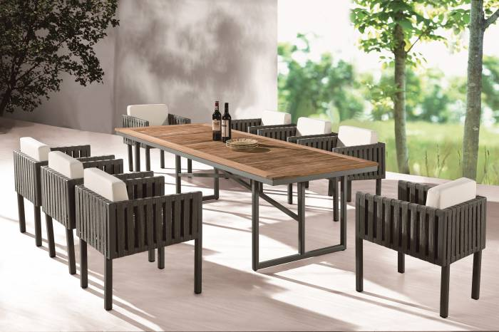 Garnet Dining Set For 8