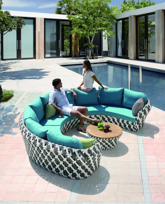 Verona U Shape Sofa Set