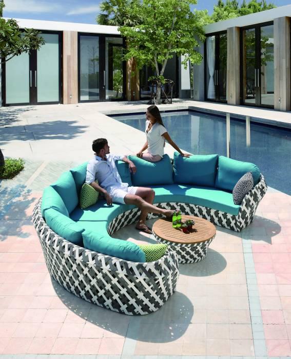 Verona U Shape Sofa Set - Image 1