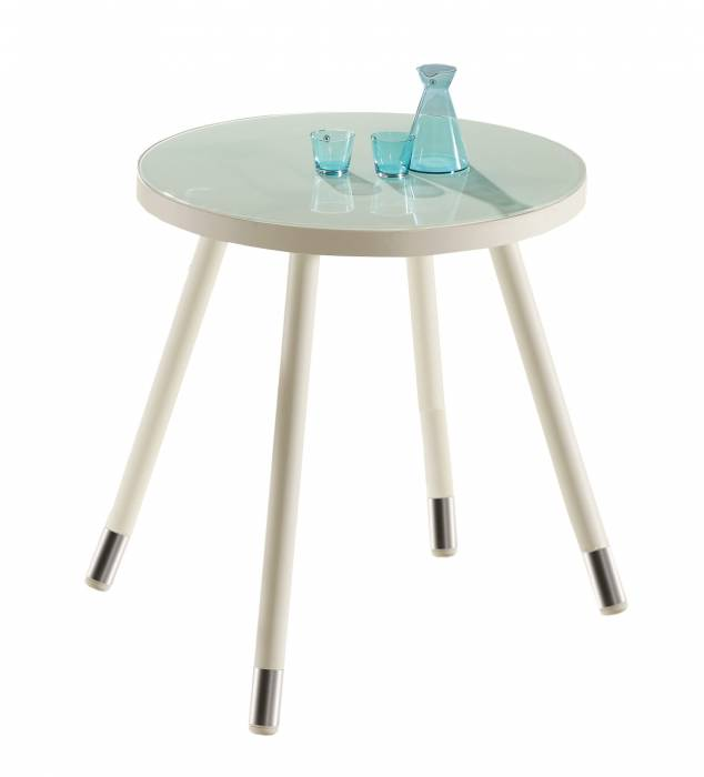 Fatsia Round Bar Table for 4