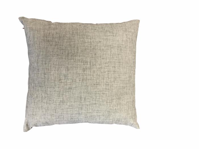 Mojave Gray Sunproof Throw Pillow - Image 1