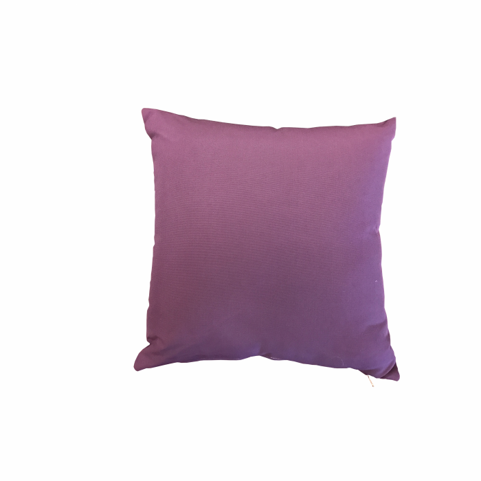 Purple Sunproof Throw Pillow