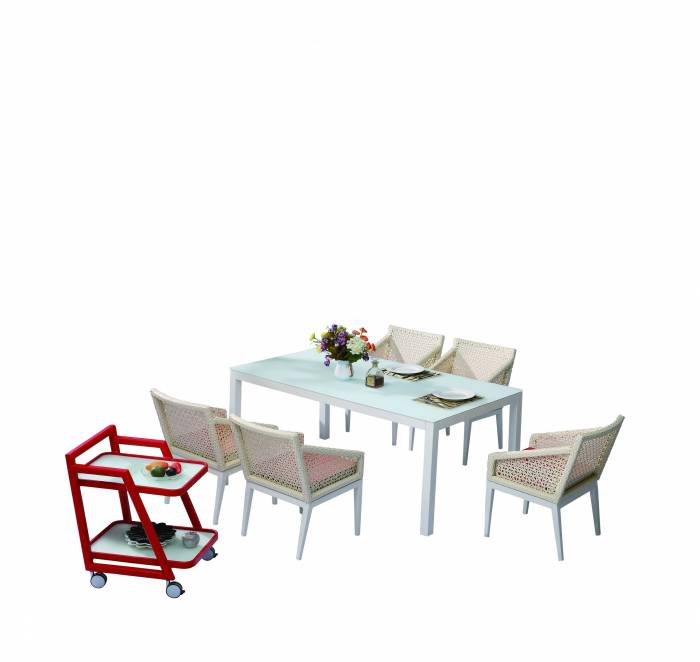 Provence Dining Set for 6