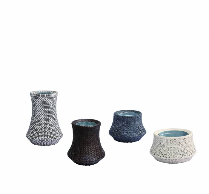 Evian Woven Vase - Image 1