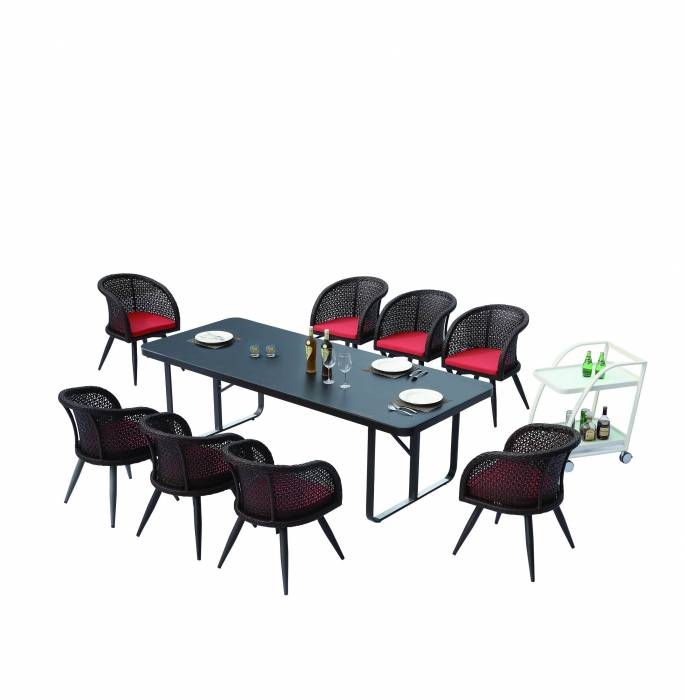 Evian Dining Set for 8