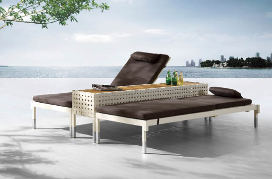 Taco Double Chaise Lounge