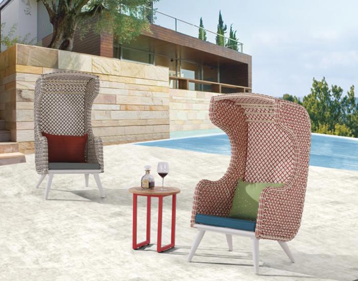 Evian Highback Club Chair