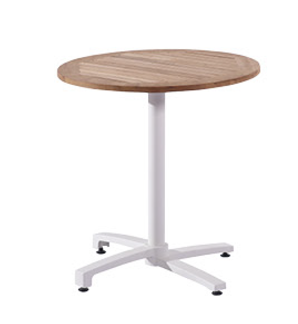 Venice Round Bistro Dining Table - Image 1