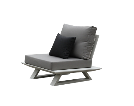 Luxe Armless Club Chair - Image 1